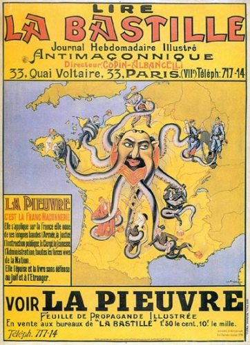 Franc-Maçonnerie Pieuvre