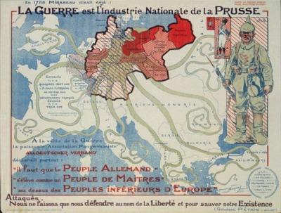 La Guerre est l'Industrie Nationale de la Prusse (Neumont, 1917)